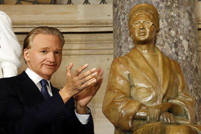 Bill Maher Flings Feces at Rosa Parks Statue!