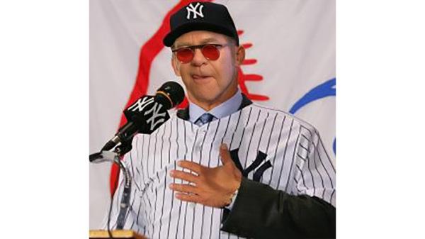 Elton John Named as Yankees Manager!