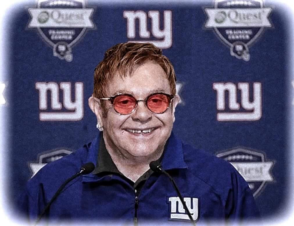 Elton John Named as NY Giants New Coach!