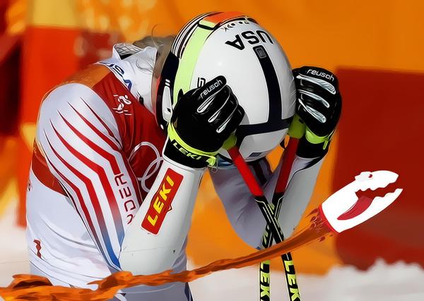 Lindsey Vonn, Olympic Tampon Tragedy!