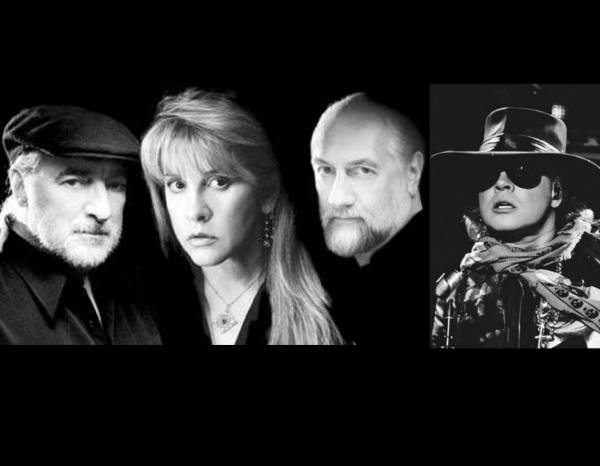 Axl Rose Replaces Lindsey Buckingham in Fleetwood Mac!