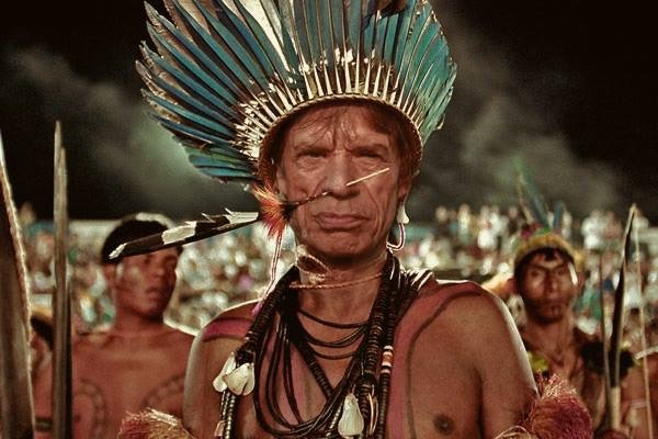 Mick Jagger Named as Chief of Cannibal Tribe in Papua New Guinea!