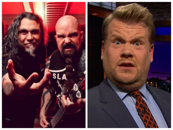 """Slayer"" Rapes, Disembowels James Corden During Carpool Karaoke!"