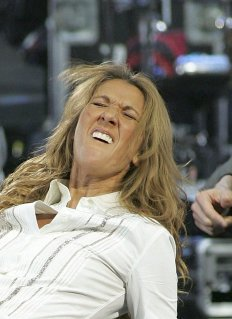 Celine Dion Loses Thumbs & Eyebrows in Fireworks Mishap!