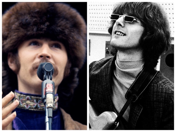 Roger McGuinn Beats David Crosby with Bible!
