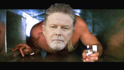 Don Henley Stuck in Heating Vent at Holiday Inn Express!