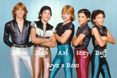 Guns n Roses Started Out as Boy Band!