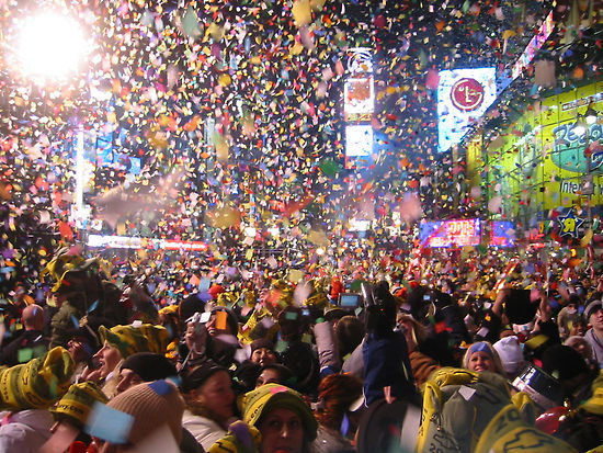 1 Million Revelers to Pee Themselves at Midnight in NYC Times Square!