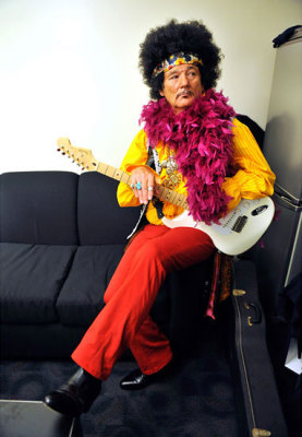 Jimi Hendrix's Cousin 'Claude' to Headline Woodstock 50th!