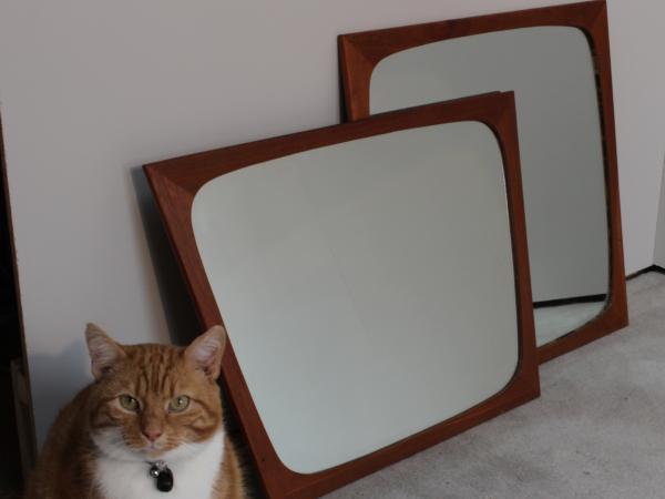 Danish Teak Mirrors