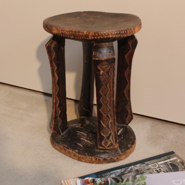 Congolese Luba stool