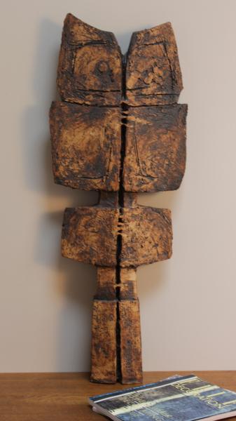 Monumental ceramic sculpture