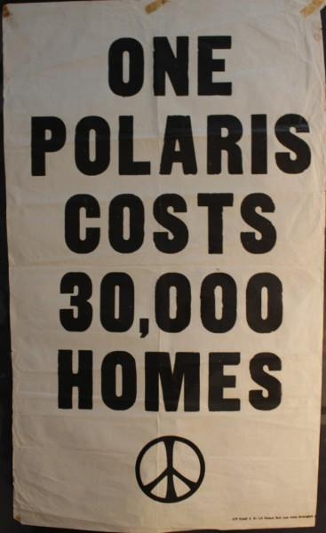 Vintage CND flyer poster