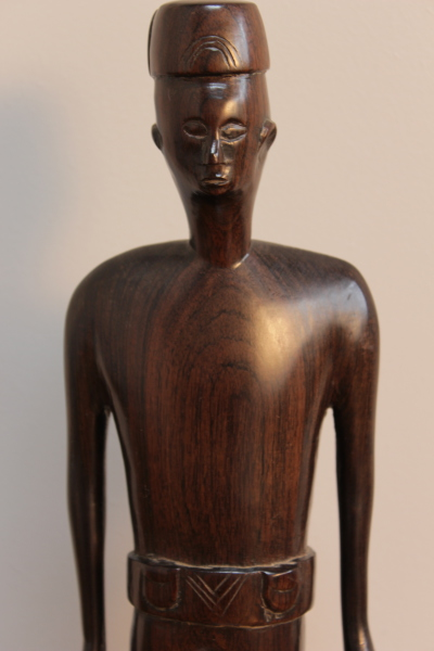 Colonial African figure