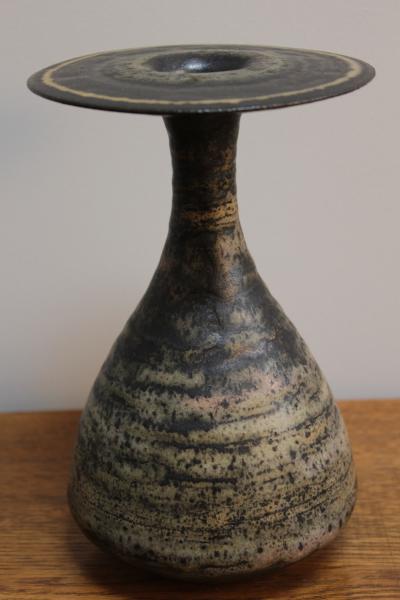 Sculptural studio vase