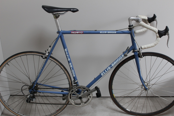 Vintage Ellis Briggs racing bicycle