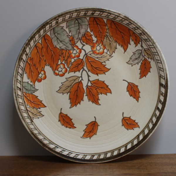 Large Charlotte Rhead charger