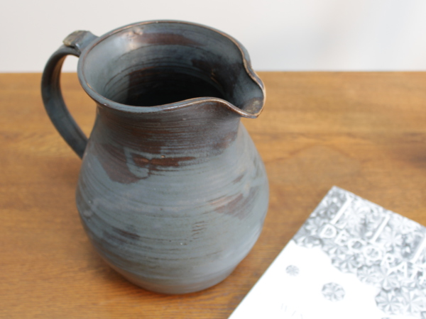 Studio pottery water jug.