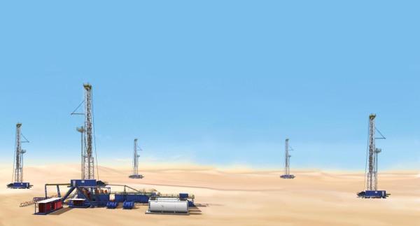 Digital Illustration (Oil and Gas)