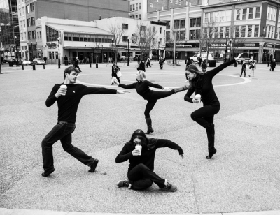 Pittsburgh Dance Bomb Project - Station Square