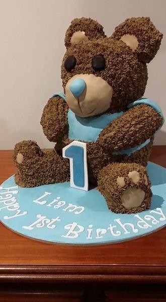 Sculpted Teddy Bear