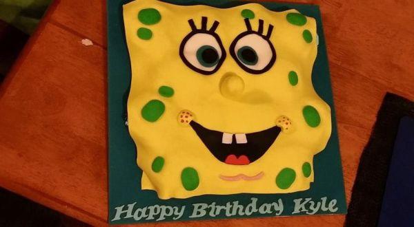 Spongebob Cupcake