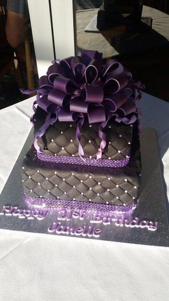 21st - Purple Bow