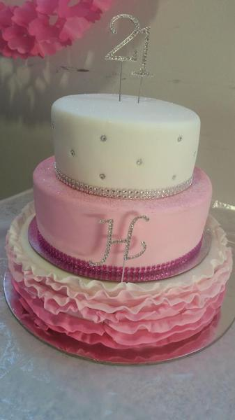 21st - Pink Frills