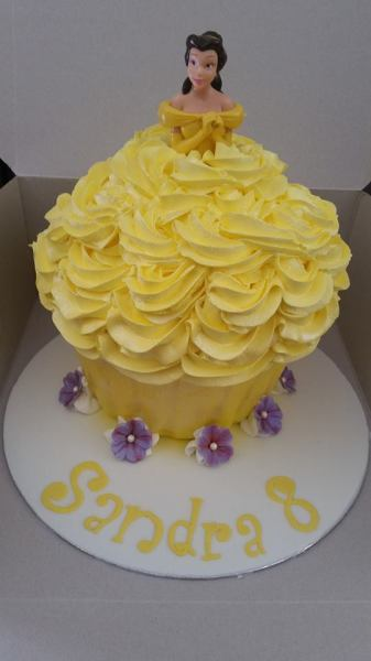 """Belle"" Giant Cupcake"