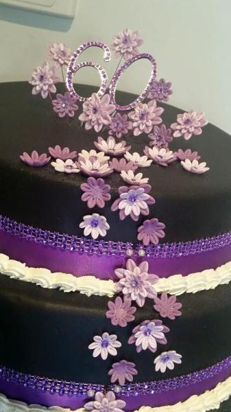 60th - Black/Purple