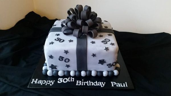 Male 30th - Black/Grey