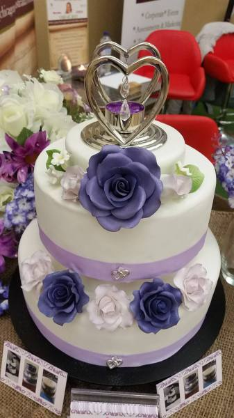 Purple Rose Wedding
