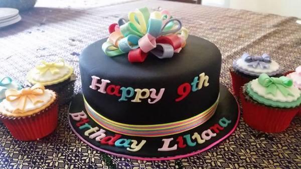 Rainbow Bow Birthday