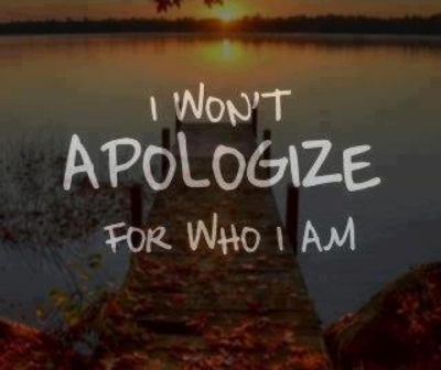 Apologize for what?