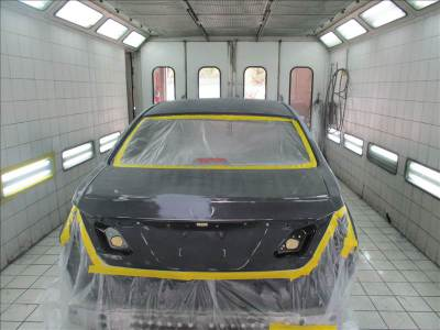 Baked Paint Jobs Paint Booth