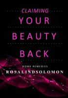 HOME REMEDY BEAUTY BOOK