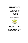 Healthy Weight Loss Book