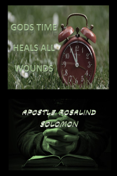 Gods Time Heals All Wounds- Paper Bck 15.00