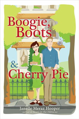 Boogie, Boots, & Cherry Pie (Book Cover - digital)