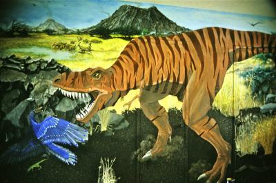 Dinosaur Mural (8' x 12')