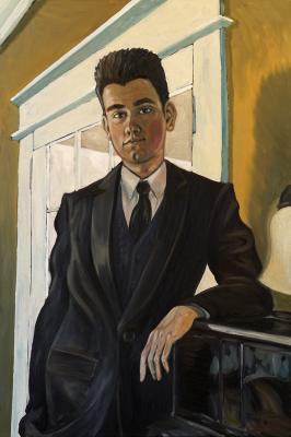 """Isaac Grad Portrait (24"""" x36"""")"""