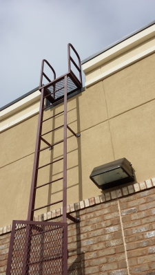 Roof Access Ladder Plano Texas