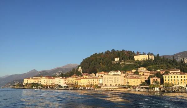 Belagio from Lake Como
