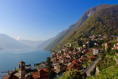 Southerly view Lake Como