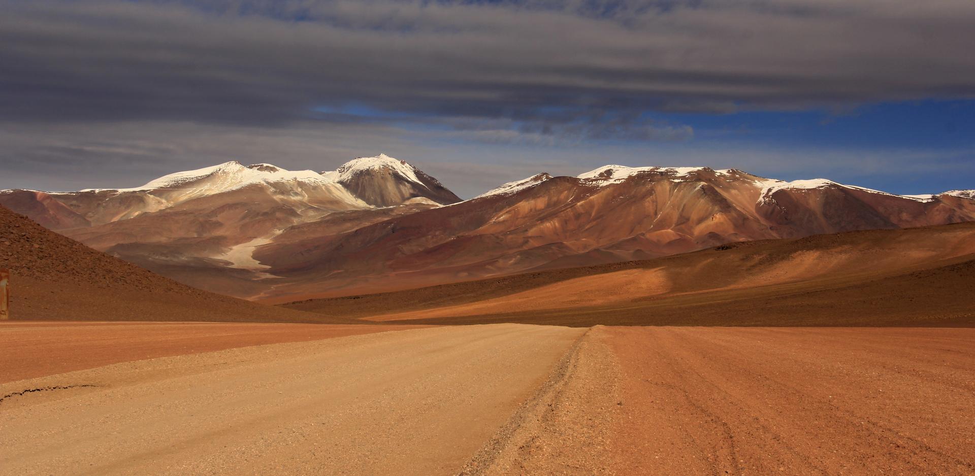 Atacama desert, Bolivia, Chille