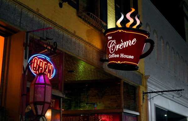 Discover. . .The Creme Coffee House!