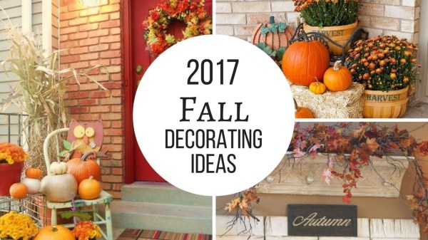 Discover. . .Fall Decorating Trends!