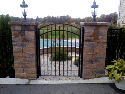 "54"" High Style 200 Black w/ Accent Gate"