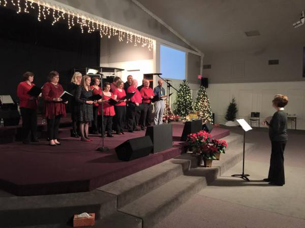 Adult Christmas choir