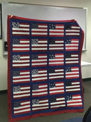 Quilt of Valor top